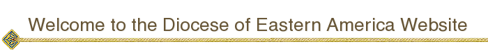 Welcome to the Diocese of Eastern America Website