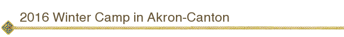 2016 Winter Camp in Akron-Canton